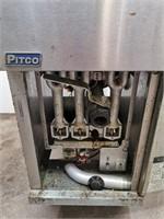 Pitco 40C 40lb Natural Gas Fryer - 105,000BTU