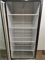 True GDM-23 Single Glass Door Cooler In S/S