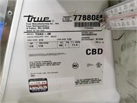 """True THAC-48 48"""" Open Merchandiser"""