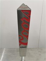 Coors Light Draught Tap Handle