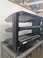 "Hatco HXMS-30D 30"" Dual Level Heated Merchandiser"