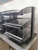 "Hatco HXMS-24D 24"" Dual Level Heated Merchandiser"