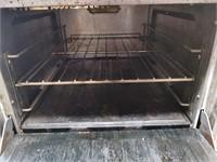 "Sunfire 4 Burner Gas Range W/ oven - 24"" Wide"