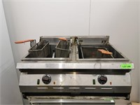 Garland Counter Top Twin Electric Deep Fryer