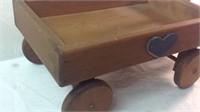 17 inch wood wagon