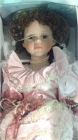 26 inch porcelain doll in box
