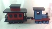 27 inch long handmade Thomas the train wood