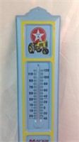 13 inch moline advertising thermometer