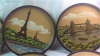 Lot of 10 handcrafted in w. Germany plates