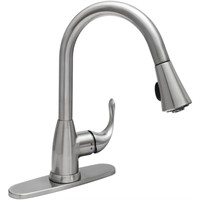 GB PULL-DOWN, STAINLESS STEEL FAUCET
