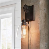 1LT PULLEY SCONCE IN / OUTDOOR