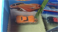 Display lot of 17 hot wheels Diecast cars