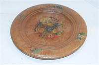 Decorative Wooden Plates & Other Items