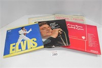 Elvis, Johnny Cash, & Other Vinyl Records