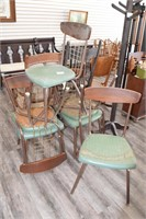 (6) Mid Century Kitchen Chairs