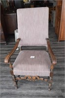 Arm Chair (has been reupholstered)