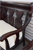 Beautiful Fully Refinished Antique Love Seat w/