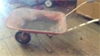 Old wheel barrel