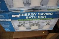 ENERGY SAVING 3 LIGHT FIXTURE