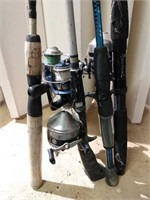 Lot of Fishing Poles