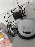Vintage Sony Discman CD Player