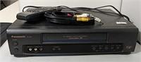 Panasonic 4 Head VHS Player VCR