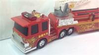Buddy L 23 inch fire truck plastic