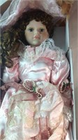 27 inch porcelain doll in box