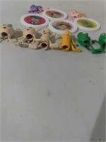 Vintage Pencil Toppers & Medallions
