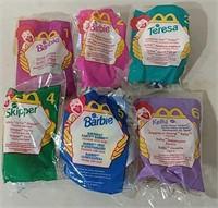 Vintage McDonald's Barbie Collection 1-6