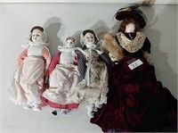 Lot of Antique Dolls