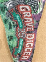 Grave Digger Pennant
