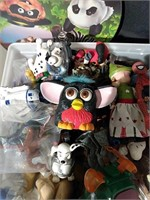 Flat of McDonald's Happy Meal Toys