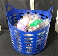 Basket of McDonald's Beanie Babies