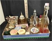 Flat of Perfume Bottles