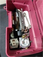 Toolbox with Miscellaneous Tools