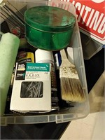 Lot of Painting Supplies & Hardware