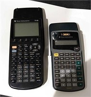 2 Texas Instruments Calculators
