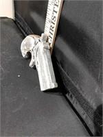 Cast Aluminum Pistol Paperweight