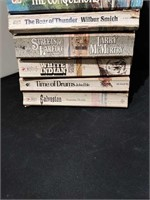 Stack of Western Paperbacks