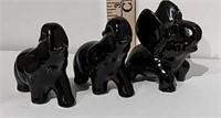 Set of Porcelain Elephants