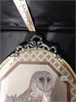 Framed Owl Print