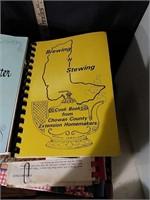 Box of Community Cookbooks