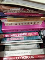 Box of Cookbooks