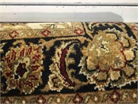 Scatter size oriental rug, hand tied, approx 4 x
