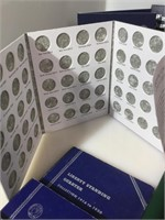 Large lot of empty coin books, slab holders and