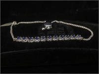 Appraised Sterling Silver bracelet with 2.10 CT's