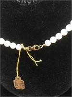 Appraised Sterling Silver necklace with 40.00