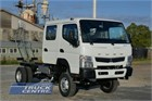 2020 Fuso Canter FG 4x4 Crew Cab Cab Chassis