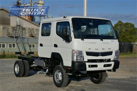 2020 Fuso Canter FG 4x4 Crew Cab Murwillumbah Truck Centre - Trucks for Sale
